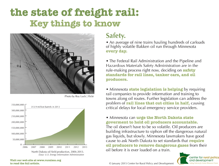 rail key findings