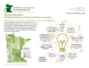 rural reality: addressing the coming workforce squeeze