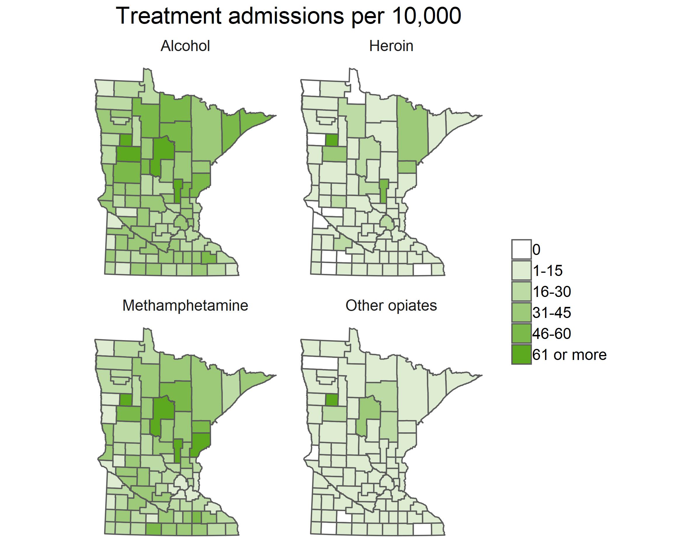 treatment admissions per 10000