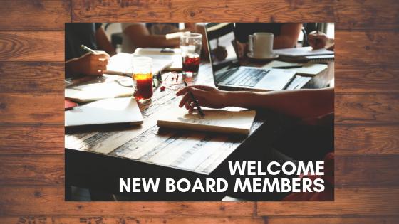 welcome new board members