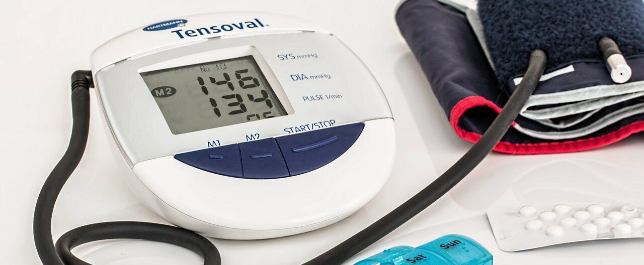 blood pressure cuff and medications